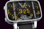 4N analog watch looks digital and is very exclusive
