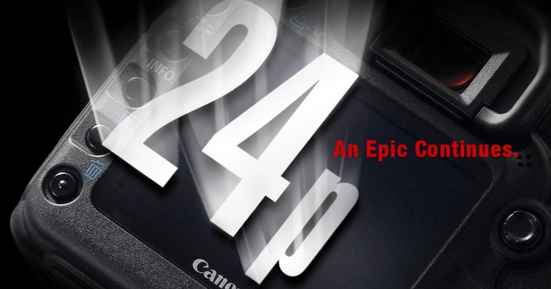 Canon pre-announces 5D Mark II Firmware 2.0.3, 24p coming this month