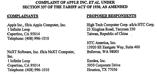 Apple's target really Google in HTC patent punch-up?