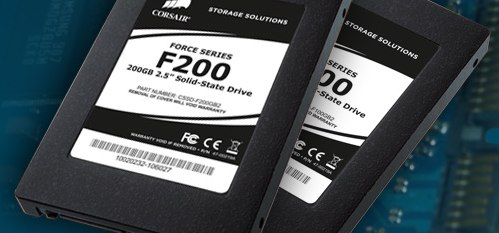 Corsair Force Series F200 & F100 SSDs outed
