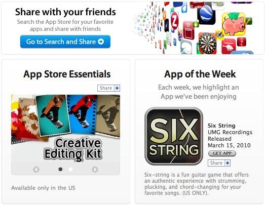 Apple App Store arrives on Facebook: downloads, sharing & more