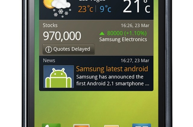 Samsung Galaxy S GT-I9000 Android 2.1 smartphone announced