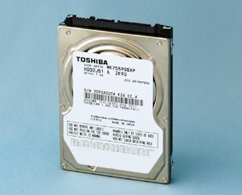 Toshiba 750GB & 1.5TB 2.5-inch HDDs announced