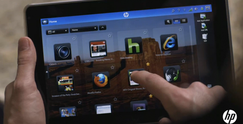 Adobe And HP Show Off Slate, Flash and AIR Take Limelight