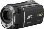 JVC Everio GZ-HM550 Full HD camcorder packs Bluetooth