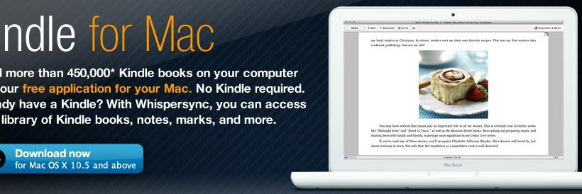 Amazon Kindle For Mac Released Slashgear