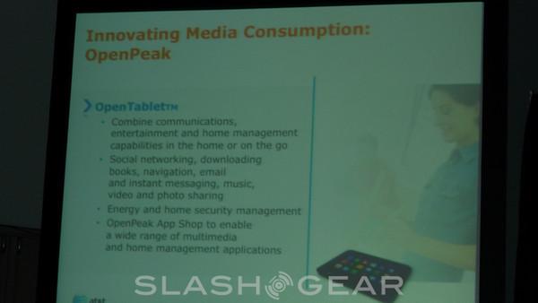 OpenPeak Tablet for AT&T