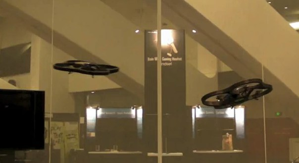 Parrot AR.Drone gets dogfight demo [Video]