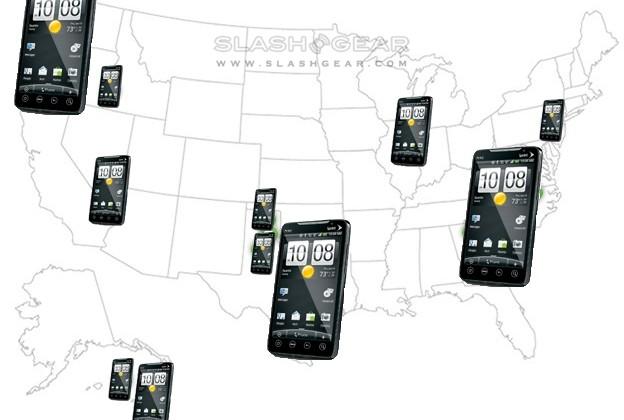 HTC EVO 4G: where will I get WiMAX?