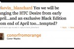 Black Edition HTC Desire hits Orange UK late April