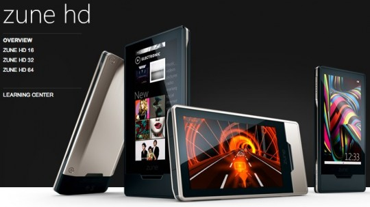 Microsoft Zune HD 4.5 Update Coming Sooner Than Later, Updates Smart DJ and Adds Codecs