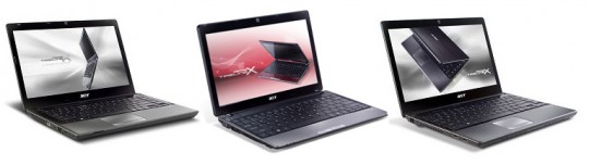 Acer TimelineX 3820T, 4820T, and 5820T – they're back