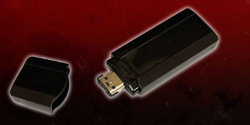 Active Media Products offers eSATA/USB flash drive