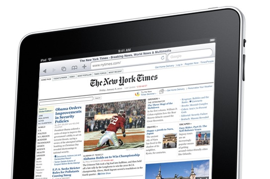 iPad magazine pricing leaks: WSJ $17.99 subscription tipped