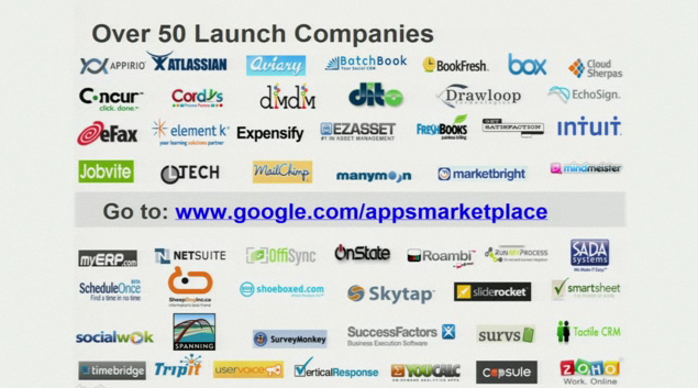 Google launchs cloud-computing based Apps Marketplace