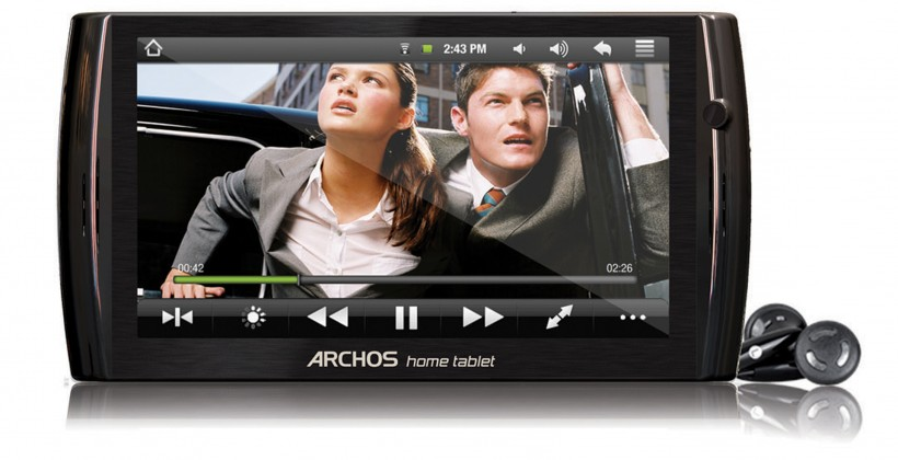 Archos 7 and Archos 8 Home Tablets official: €149 but sluggish CPUs