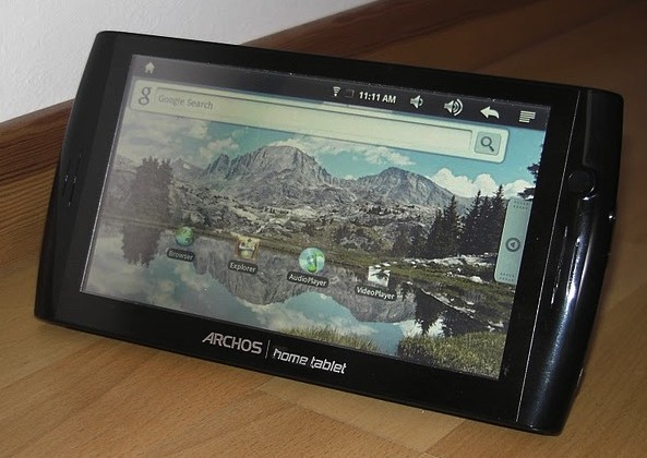 Archos 7 Home Tablet gets hands-on video: surprisingly good