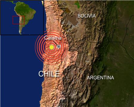 Chilean quake will result in shorter days on Earth