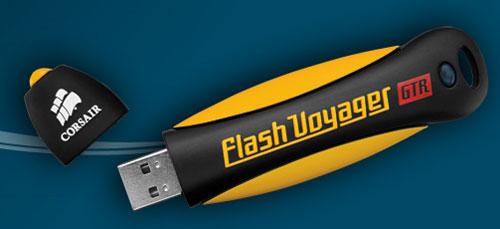 Corsair Flash Voyager GTR flash drive launches