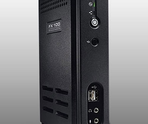 Dell FX100 Zero Client and OptiPlex 980 desktop surface