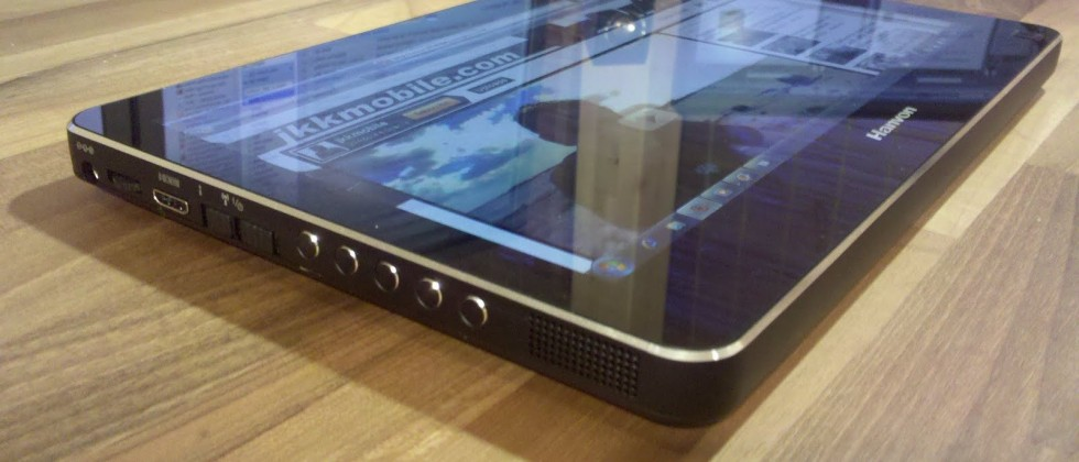 Hanvon BC10C multitouch Win7 tablet gets tested: premium feel