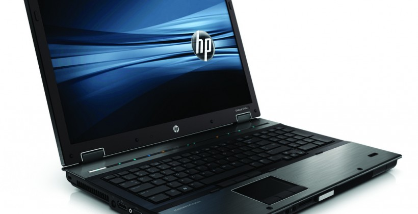 HP EliteBook 8740w and Z200, Z400, Z600 & Z800 workstations get Intel CPU updates
