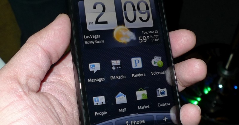 HTC EVO 4G hands-on