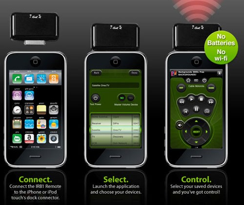 i-Got-Control turns iPhone into learning remote