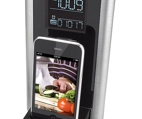 iHome iP39SZC iPhone speaker dock and kitchen timer drops
