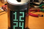 IllyClock squeezes color-changing time into coffee can [Video]