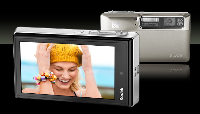 Kodak Slice touchscreen 14MP digicam on sale now
