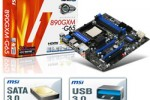 MSI reveals new 890GXM-G65 mainboard with USB 3.0 and more