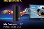 Western Digital debuts My Passport AV USB HDD