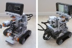 Niko N900-based LEGO robot controlled by Twitter [Video]