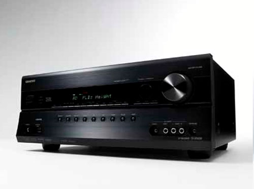 Onkyo TX-SR608 AV receiver is THX certified and 3D-ready