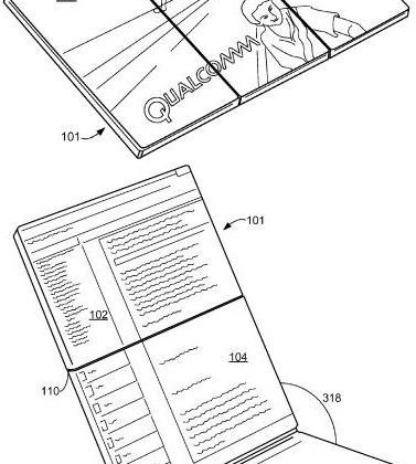 Qualcomm patent app shows multi-fold device to replace smartphone and tablets