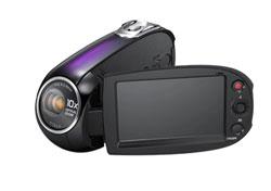 Crazy Samsung SMX-C20UN camcorder has 25-degree angled lens