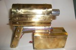 Steampunk coilgun looks like the love child of Walther PPK and a radar gun