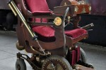 Professor X steampunk wheelchair isn't powered by thought