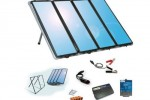 Sunforce 50044 solar charger produces 60W of power