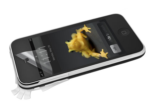 Wrapsol Ultra adhesive film claims to protect devices from a 6-foot fall
