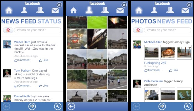 Facebook app for Zune HD falls short on debut