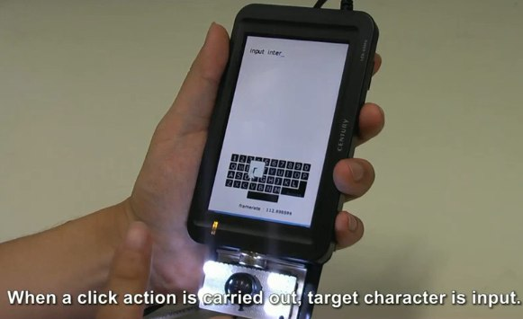 Finger-tracking smartphone promises Project Natal style interaction