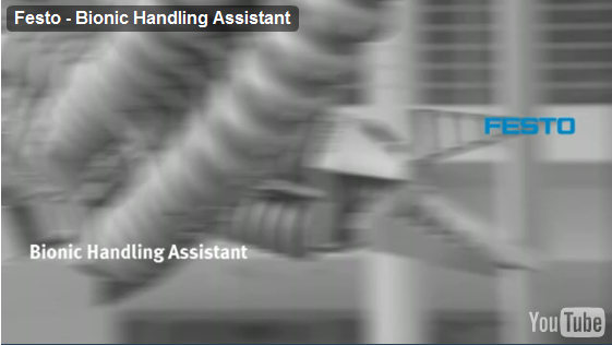 Festo Bionic Handling Assistant Shows Humans and Machines Can Work Together [Video]