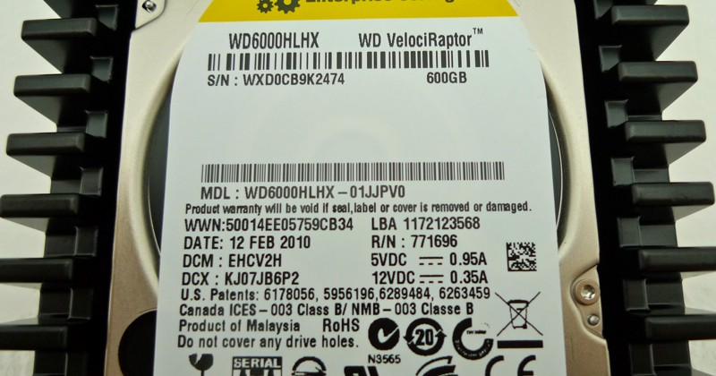 WD VelociRaptor [WD6000HLHX] Review