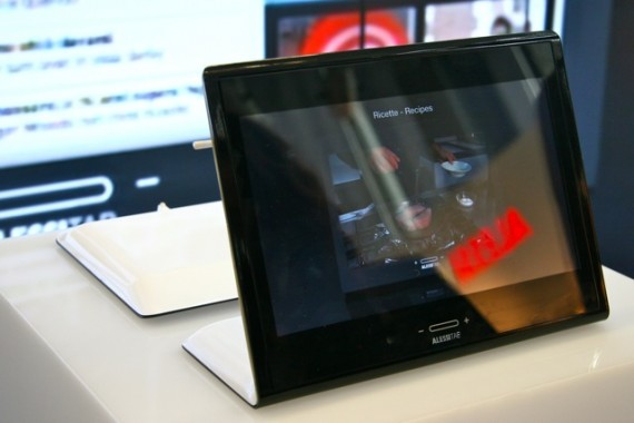 AlessiTAB Android home tablet coming September [Video]
