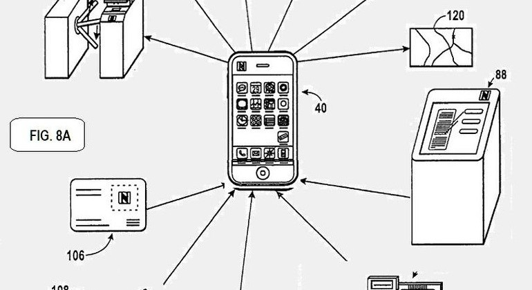 Apple Concert Ticket + patent uses NFC & cashless purchasing