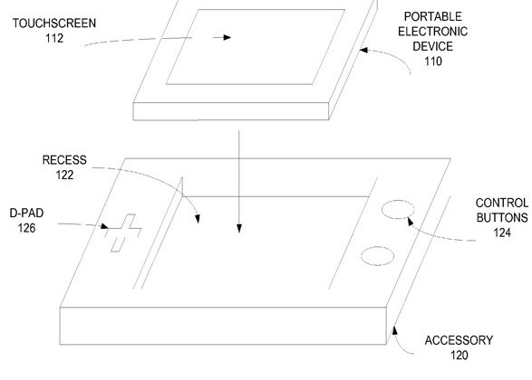 Apple iPhone game-controller dock patent spotted