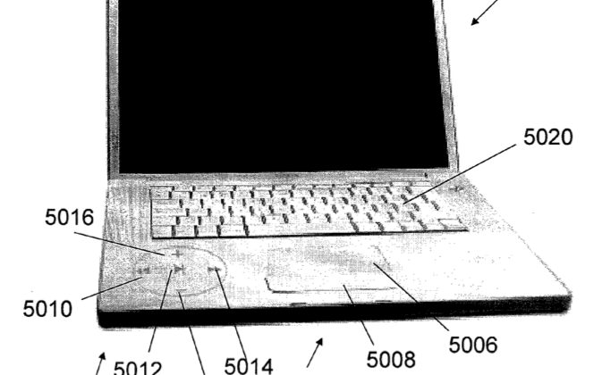 Apple invisible button patent promises secret controls