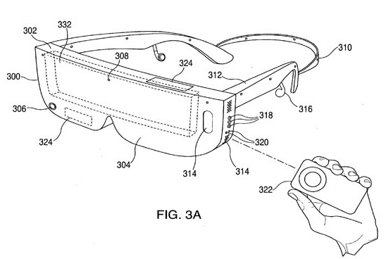 iPhone head-computer dock patent tips AR and other possibilities